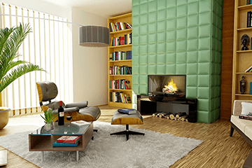 Living Areas - Home Cleaning Services | Residential Cleaning | Janitorial Services